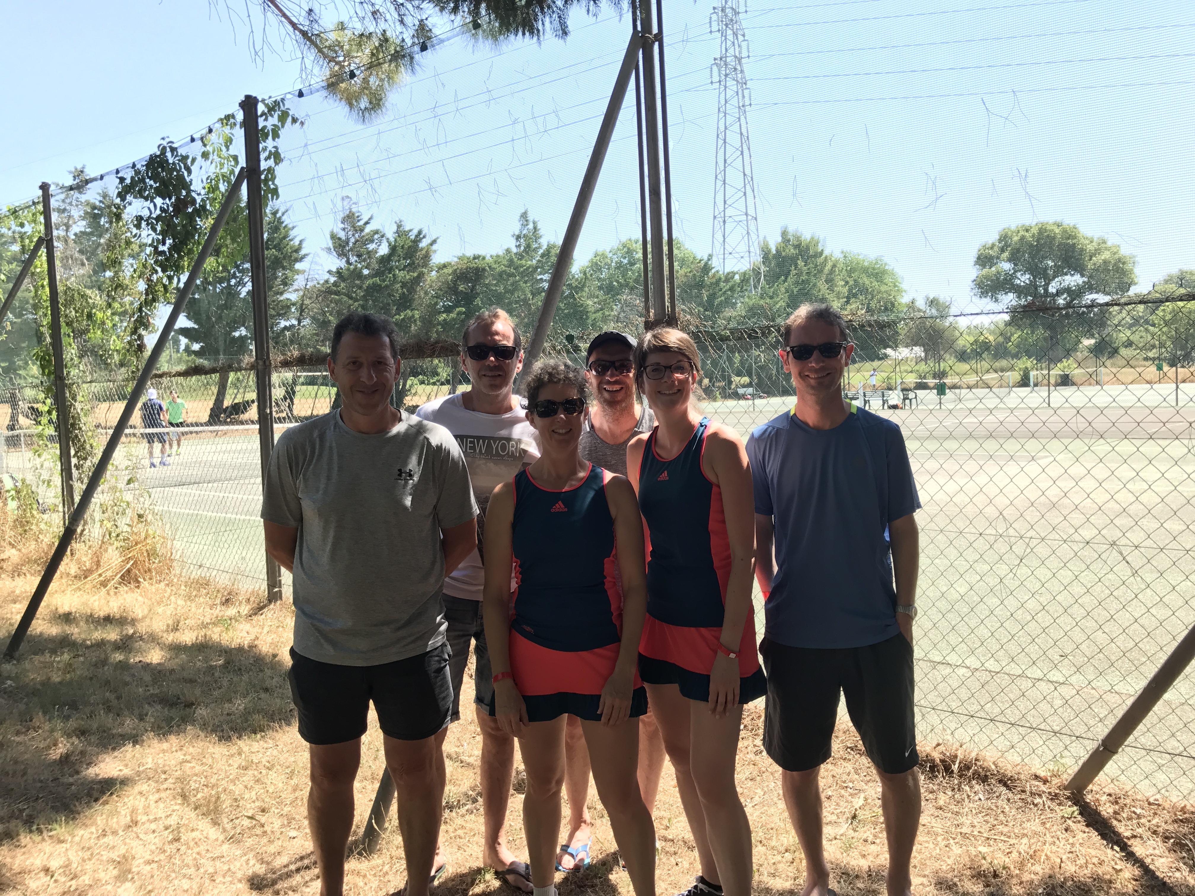 Equipes Tennis Arles 2017