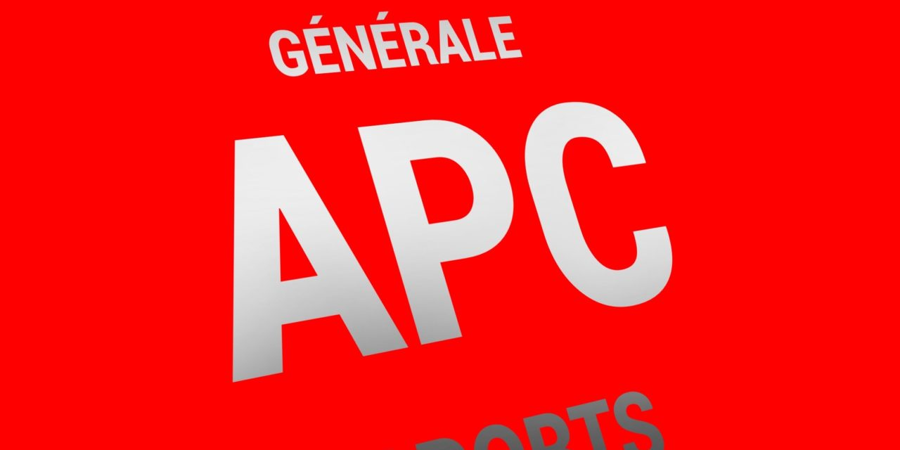 Assemblée Générale APC SPORTS