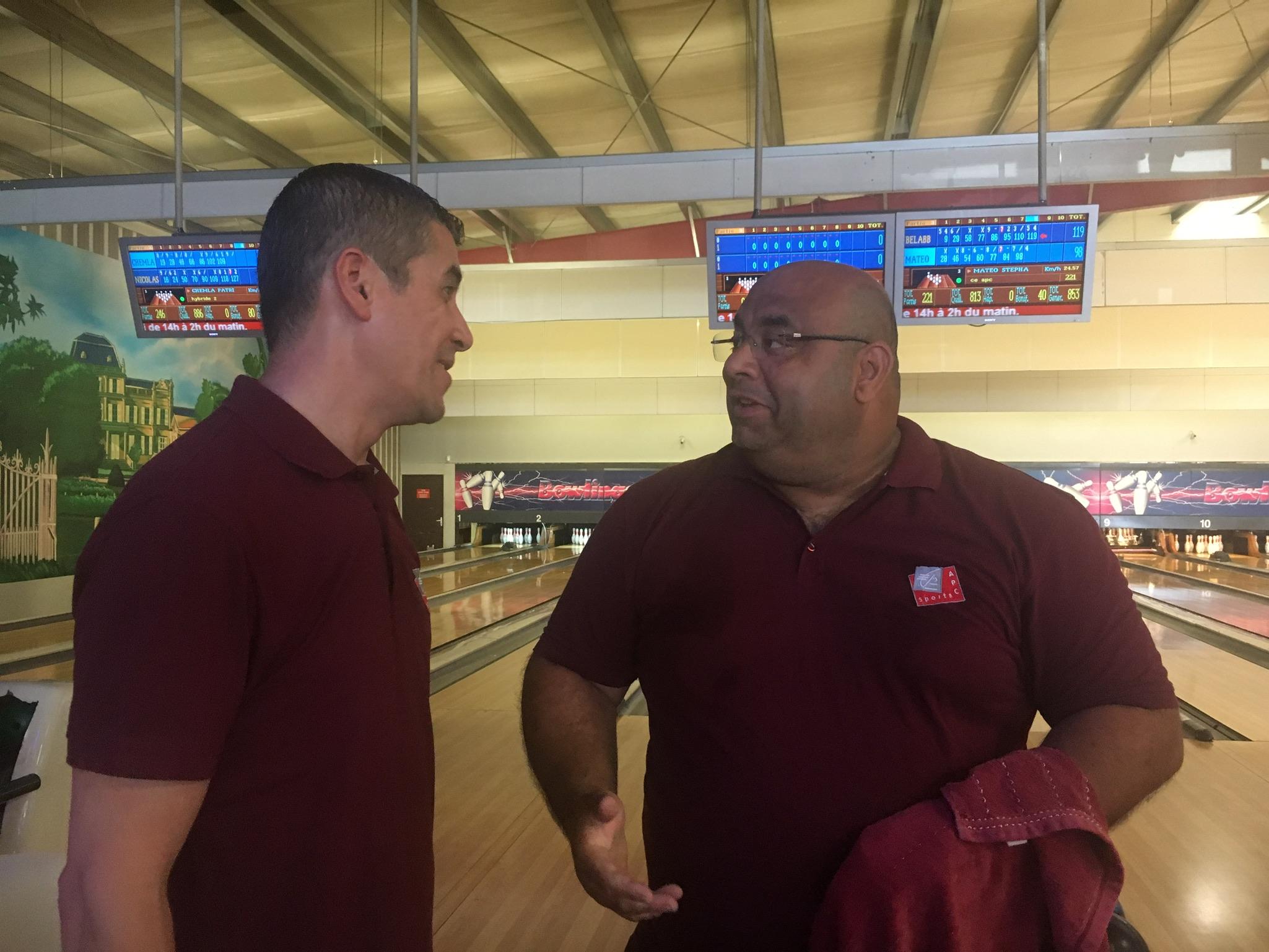 challenge bowling équipe apc