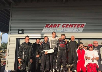 Challenge Kart 2017 Biscarosse podium